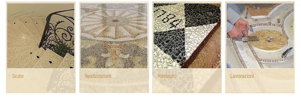 FRIUL TERRAZZO pavimenti in terrazzo veneziano mosaici - restauri ...